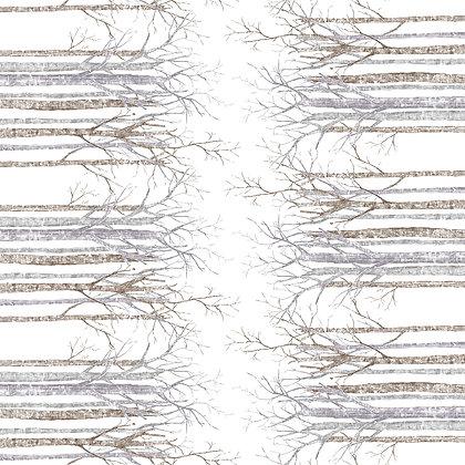 Tischläufer BIRKE Bianco, 160 Stk., 48x120cm