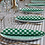 Thumbnail: Tischtuch Hostaria Verde, 100 Stk., 140x140cm