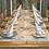 Thumbnail: Tischläufer Creed Azzurro, 48x120cm, 160 Stk.