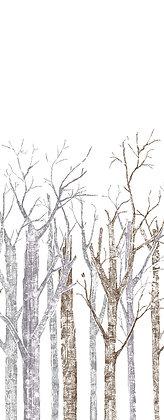 Bestecktasche BIRKE Bianco, 400 St. 36x46cm