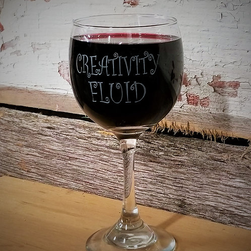 WINE GLASS - Creativity Fluid
