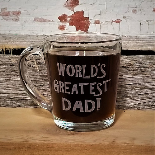 COFFEE MUG - World's Greatest Dad!