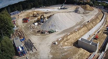 Timelapse billede fra byggeplads