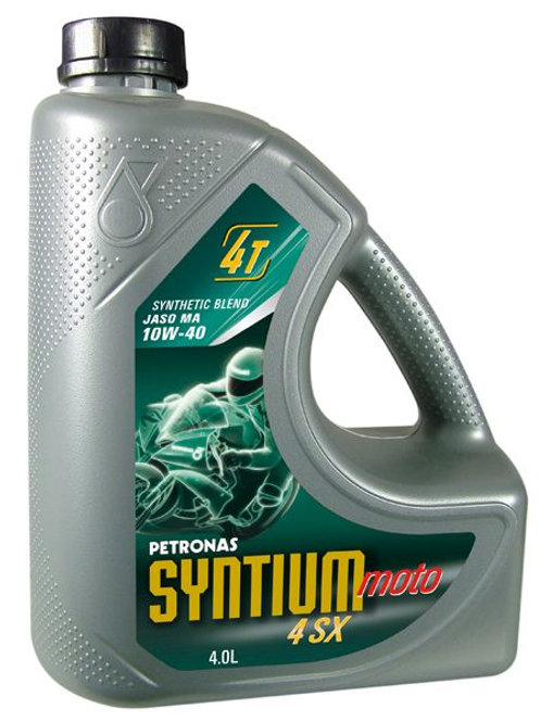 Petronas Syntium 4SX Semi 10w40 4L *incl Hiflofiltro oil filter