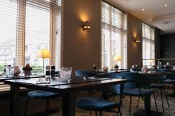 Sfeerbeeld tafels in de tea-room