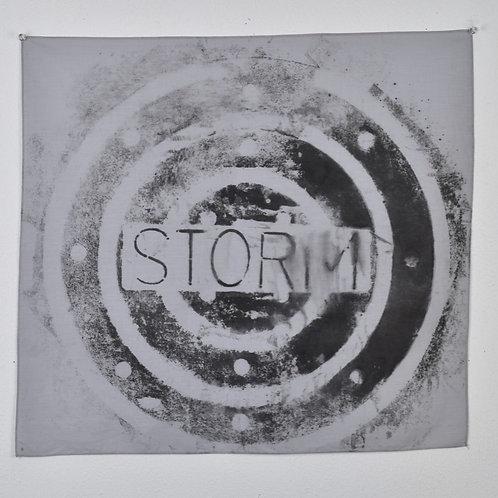 Gray 'Storm' Bandana 2