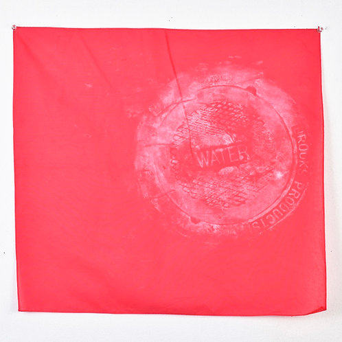 Cranberry 'Water' bandana