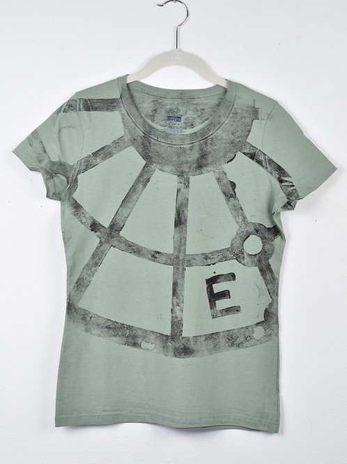 Spokes t-shirt ( size women's small, fitted cut)