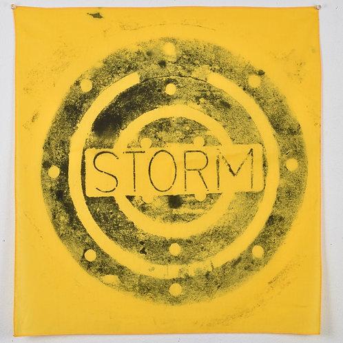 Yellow 'Storm' Bandana