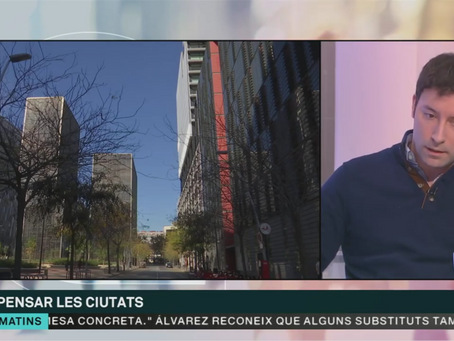 Ramon Gras, Aretian's co-founder, gave an interview on the Future of Urbanism on TV3.cat