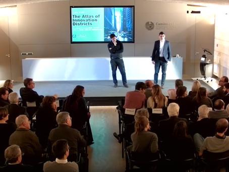 Aretian presented at Col·legi d'Enginyers de Camins, Canals i Ports in Barcelona (11/20/2019)
