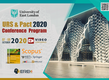"Aretian presented its findings at the 2nd ""Urban Regeneration and Sustainability"" IEREK Conference!"
