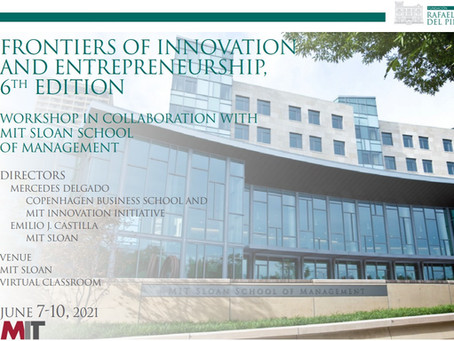 Ramon Gras, Aretian's co-founder, presenting at MIT's Frontiers of Innovation and Entrepreneurship