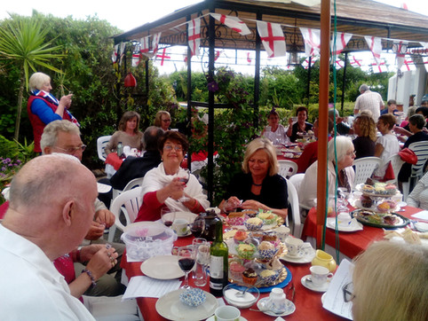 St. George's day social