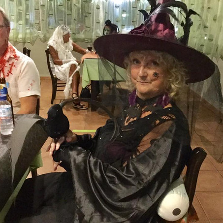 Halloween social