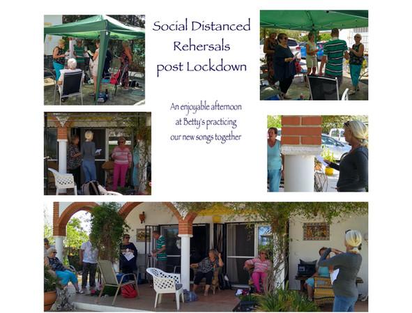 Post Lockdown rehersals