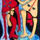"""""""Paréntesis"""" acrílico / tela 110 x 90 cm. 2009 AVAILABLE"""