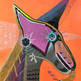Aprendiz de unicornio 46 x 36 cm.  mixta / papel  2019 AVAILABLE
