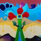 """""""Flor viva"""" 110 x 180 cm. 2009 SOLD"""