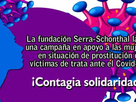 Seguimos apoyando y agradeciendo: Campaña Contagia Solidaridad
