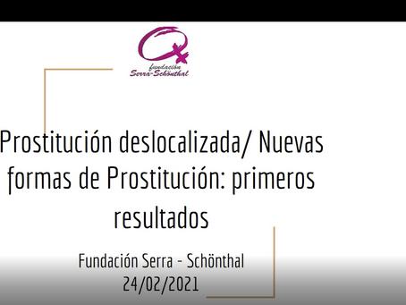 Reunión Provincias: Estudio nuevas formas de prostitución y trata