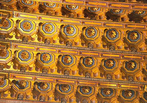 Plafond de la cathédrale de Montreale (Sicile)