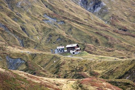 Le refuge de Moëde-Anterne (2002 m)