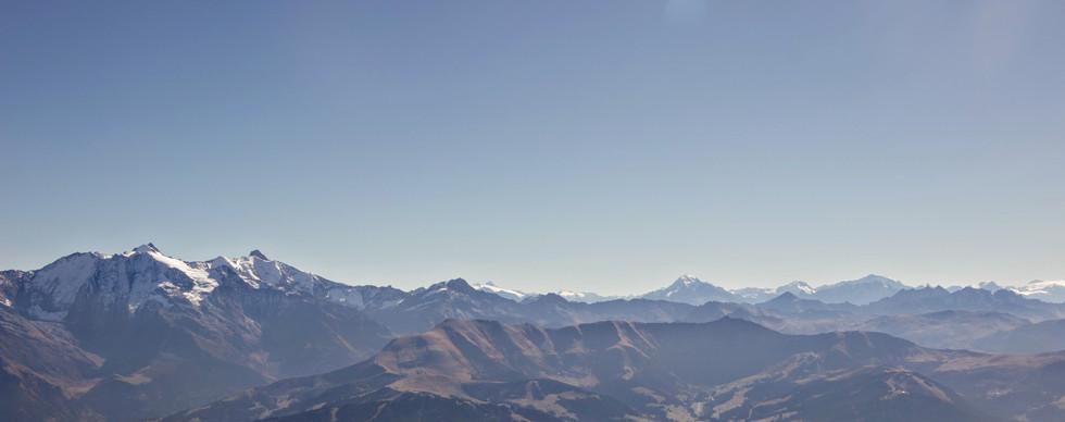 Les Dômes de Miage et les Alpes Grées