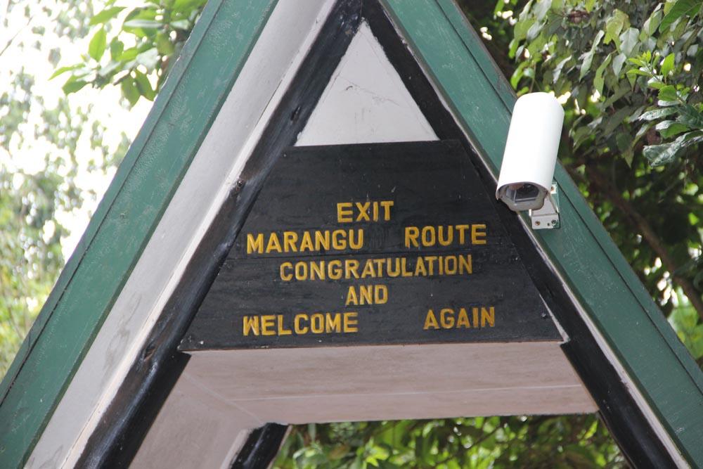 Marangu Gate
