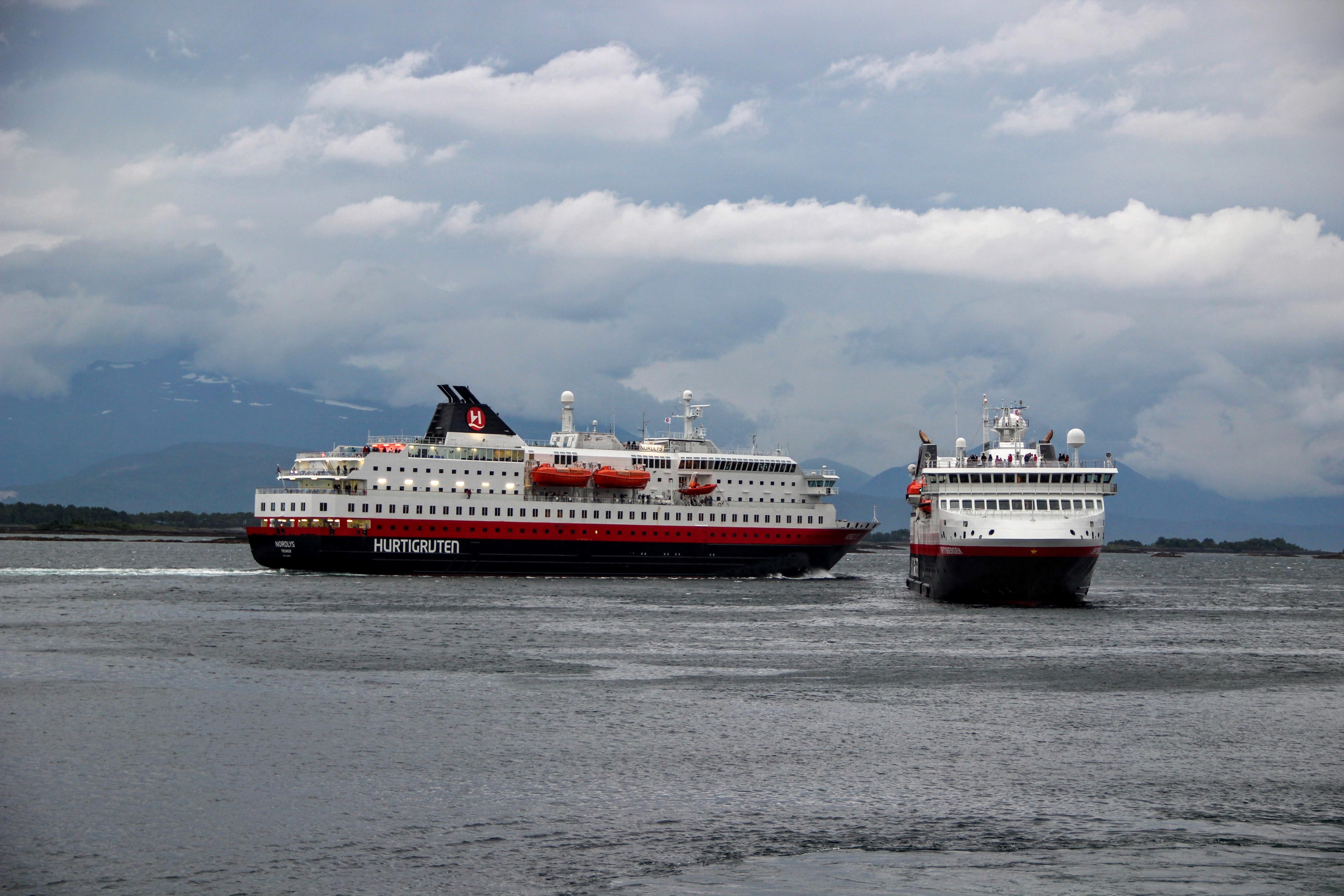 Bateaux de la flotte Hurtigruten