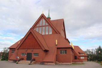L'église en bois de Kiruna
