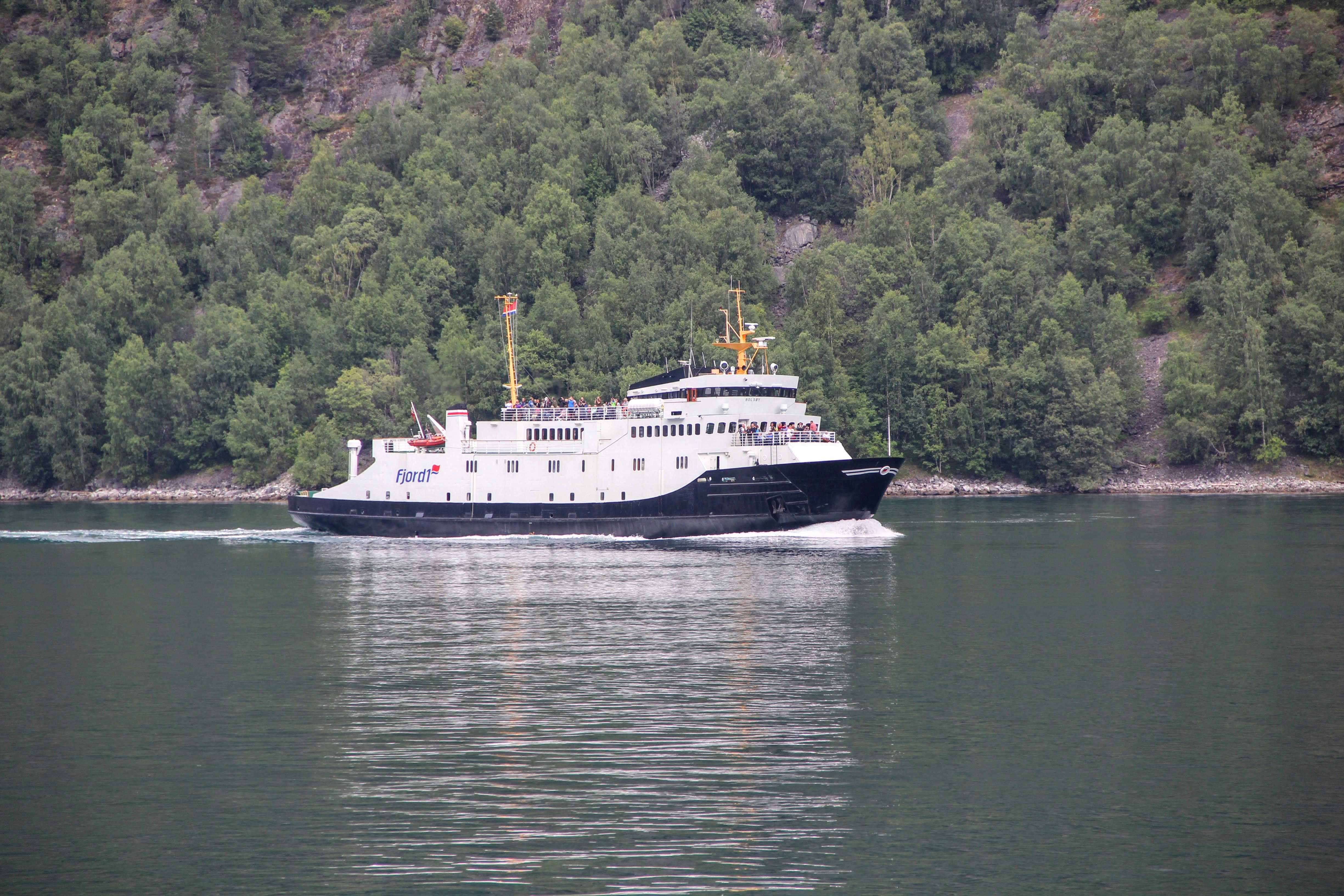 Ferry sur le Geiranger