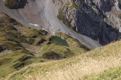 Le lac depuis la pointe de Tardevant