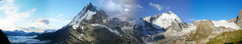 Le Cervin depuis Schönbielhütte