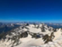 Les Alpesdu Sud depuis le dôme de Polset