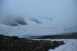 Lac Bramant au crépuscule