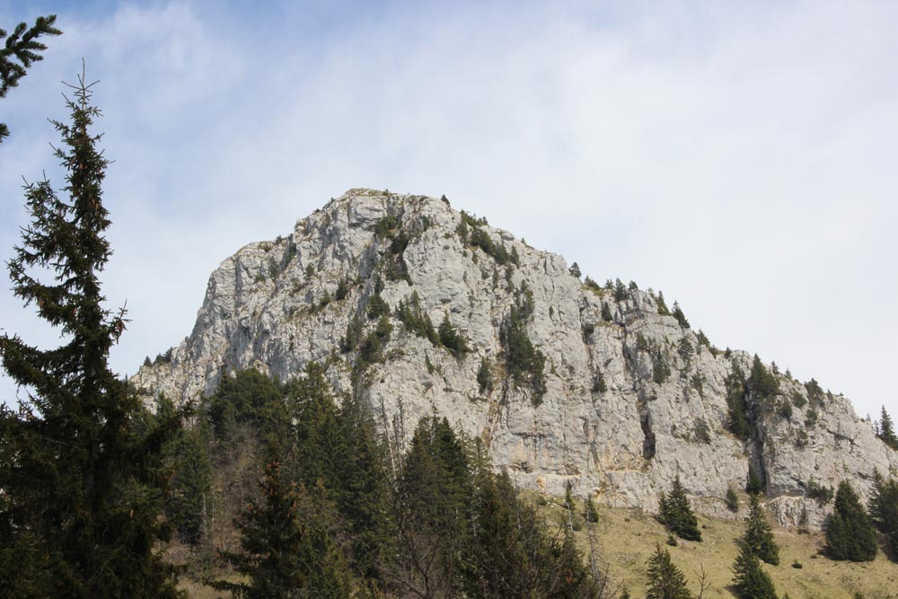 La falaise dominant Bonneville