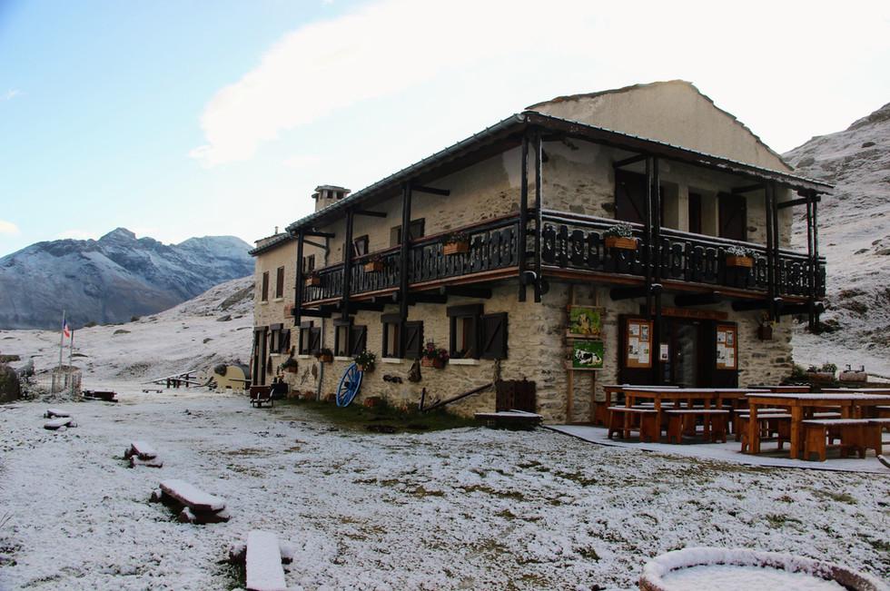 Le refuge du Petit Mont Cenis