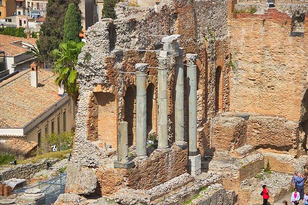 Théâtre antique Taormine (Sicile)