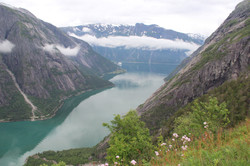 Panorama depuis Kjeasen