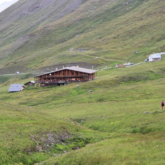 Le refuge Agnel (2580 m)