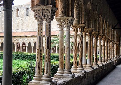 Cloître de Montreale (Sicile)