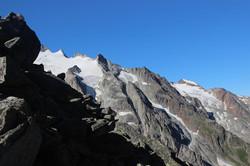Le glacier de Trient