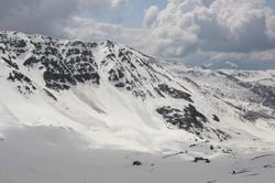 La face de l'avalanche