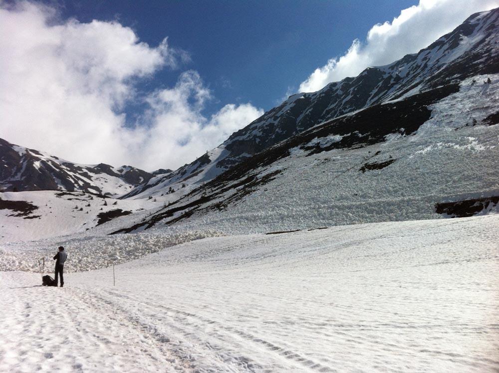 Enorme avalanche de la semaine