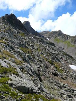 la cime du Grand Mont