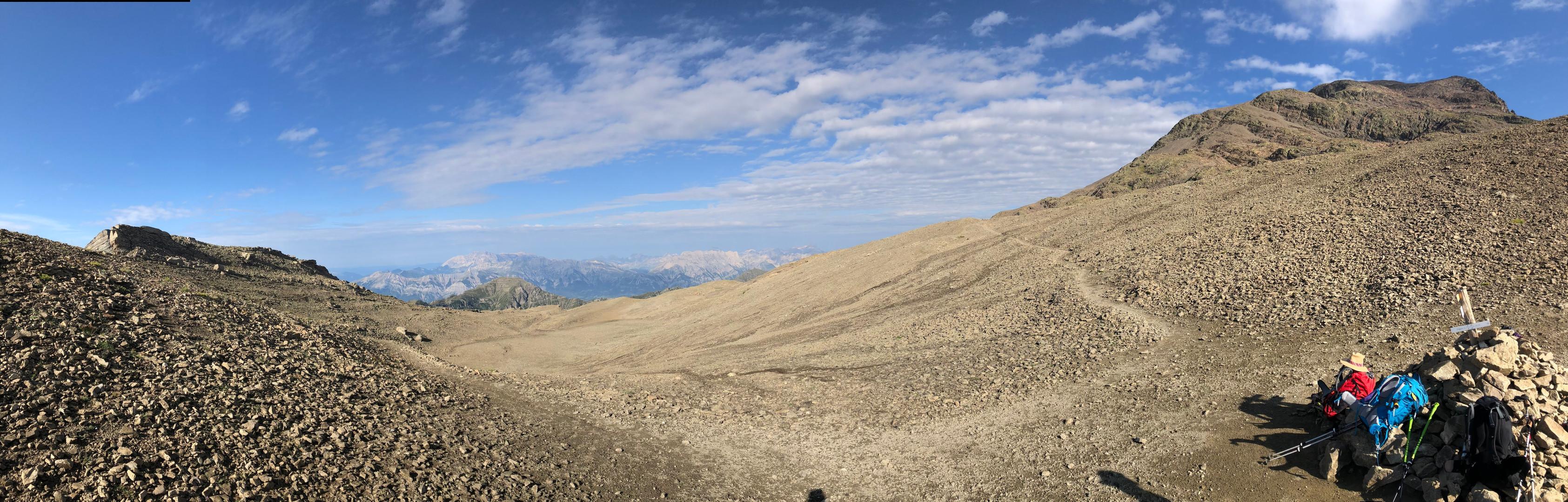 Au col de Côte Longue (2679 m)