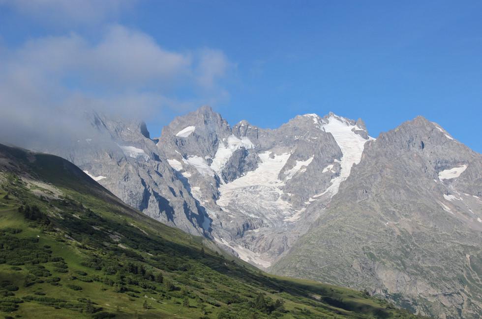 Pause au col du Lautaret (2057 m).