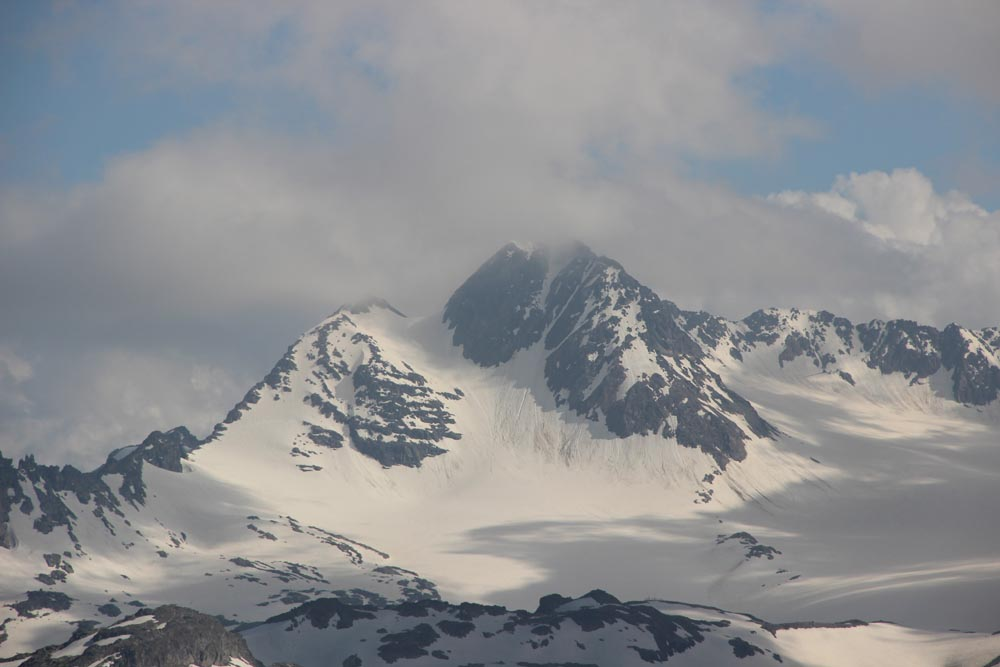 La Cime du Grand Sauvage (3217 m)
