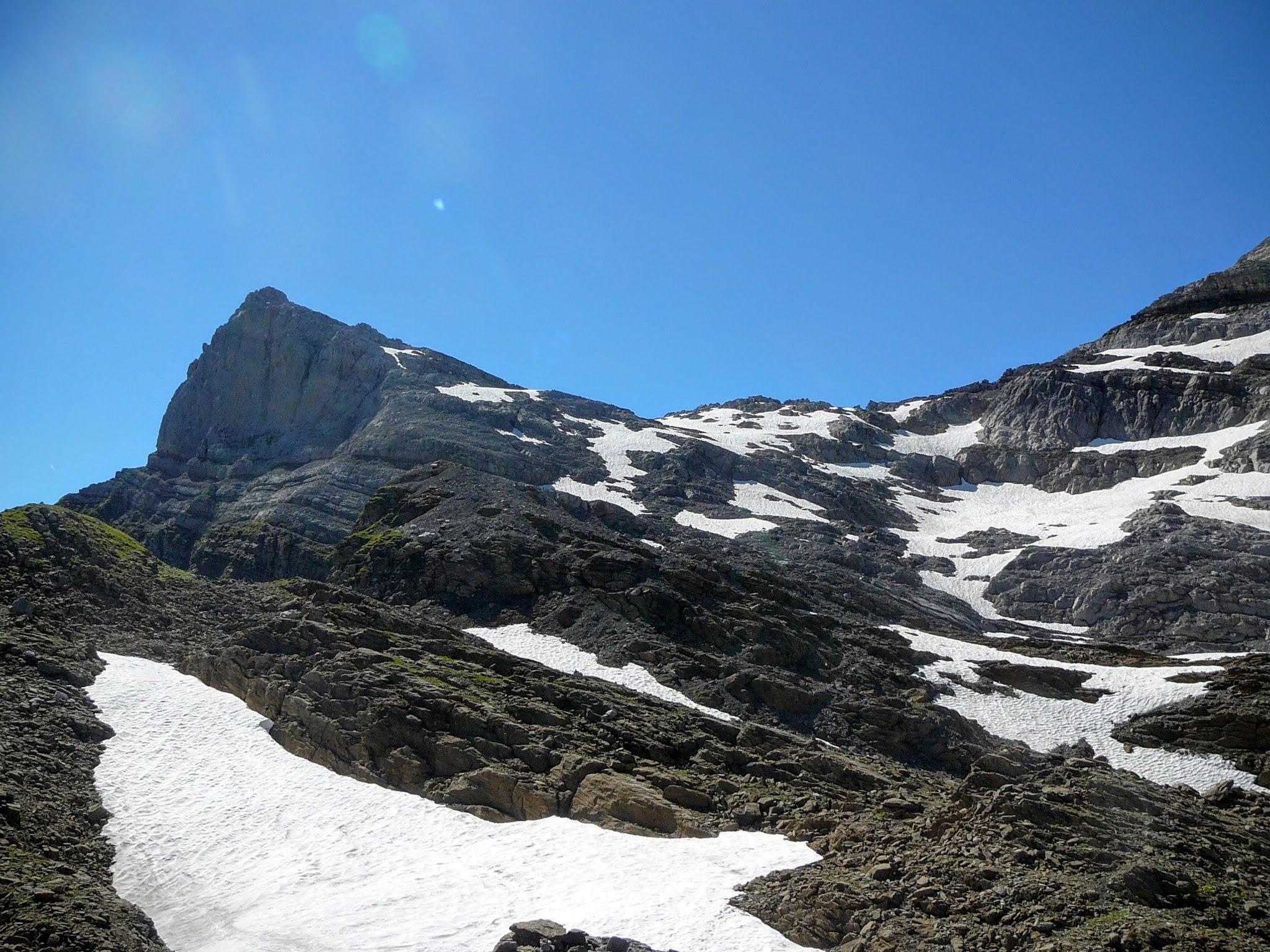 La pointe de Bellegarde (2514 m)